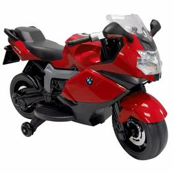 Ride On Toy BMW Motorcycle Red 12v Battery Powered Motorbike