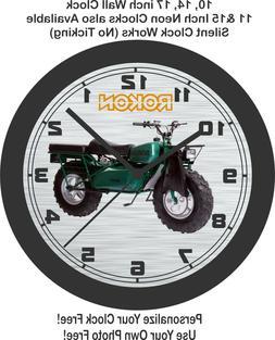 Rokon Scout Motorcycle Wall Clock-Free US Ship, Yamaha, Hond