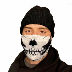Skull Face Mask Washable Reusable Biker Motorcycle Halloween