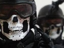 Bandana Novel Skull Bike Motorcycle Helmet Neck Face Mask Pa