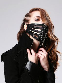 HaoLin Steampunk Mask Gothic Clothing Steampunk Gas Mask Mas