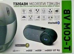 T-COM VB Bluetooth Motorcycle Helmet Intercom Headset FM Rad