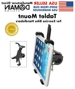 Tablet Mount for Spin Bike & Exercise Bicycle Handlebars, iP
