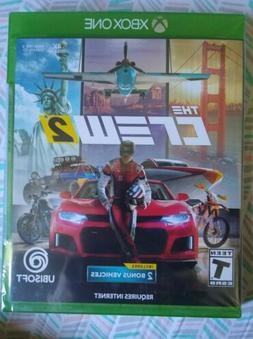 The Crew 2 XBOX ONE NEW Ubisoft Cars Motorcycles Planes Boat