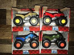 Turbo Wheels ATV Toy Vehicle 4 MotorBikes New in Box