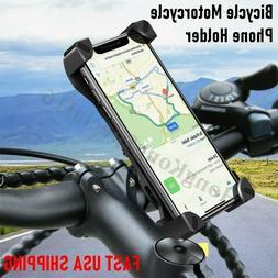 Universal Cell Phone Holder Mount Adjustable Motorcycle Bike