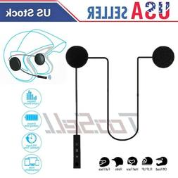 US Bluetooth 5.0 Helmet Headset Speaker Accessory Motorcycle