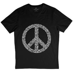War T-Shirt Peace Hand Sign Victory World Revolution Justice