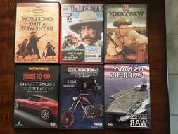 Western Car Motorcycle Chopper Navy Documentary DVDs